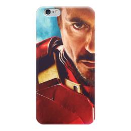 "Чехол для iPhone 6 ""Iron Man"" - комиксы, кино, marvel, железный человек, iron man, tony stark, тони старк, роберт дауни"