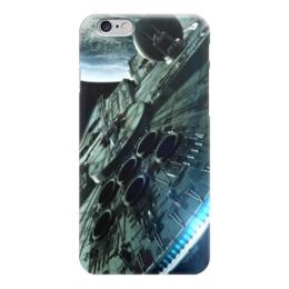 """Чехол для iPhone 6 """"Star Wars Сокол Тысячелетия """" - звездные войны, starwars, сокол, дарт вейдер, штурмовик"""