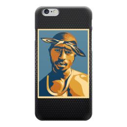 "Чехол для iPhone 6 ""Тупак Шакур (2pac)"" - 2pac, тупак, тупак шакур, tupac shakur"