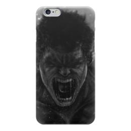 "Чехол для iPhone 6 глянцевый ""Халк (Hulk)"" - халк, комиксы, марвел, мстители, брюс баннер"