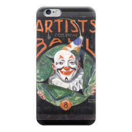"""Чехол для iPhone 6 """"Artists Costume Ball"""" - картина, клоун, карнавал, арлекин, роквелл"""
