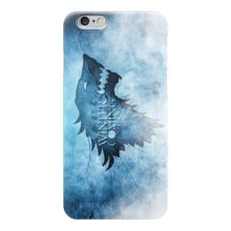 """Чехол для iPhone 6 глянцевый """"Игра Престолов (Game of Thrones)"""" - starks, старки, winter is coming, зима близко"""