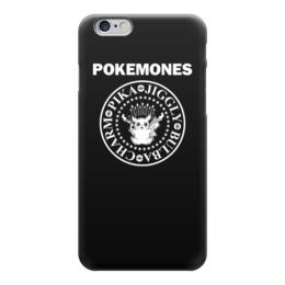"Чехол для iPhone 6 ""Покемоны"" - прикольные, покемон, покемоны, ramones, pokemon go"