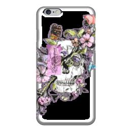 """Чехол для iPhone 6 """"Dum spiro sper: пока дышу - надеюсь!"""" - череп, hope, надежда, пока дышу надеюсь"""