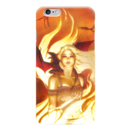 "Чехол для iPhone 6 ""Game_of_Thrones"" - игра престолов, game of thrones, daenerys targaryen, дейенерис таргариен"