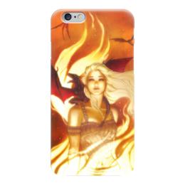"Чехол для iPhone 6 глянцевый ""Game_of_Thrones"" - daenerys targaryen, дейенерис таргариен, игра престолов, game of thrones"
