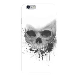 "Чехол для iPhone 6 ""Череп"" - skull, череп, краски, paint"