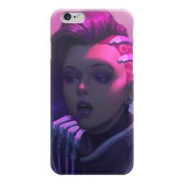 """Чехол для iPhone 6 """"Сомбра"""" - blizzard, близзард, sombra, overwatch, овервотч"""