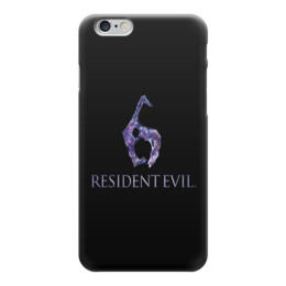 "Чехол для iPhone 6 ""Resident Evil 6"" - игра, обитель зла, resident evil, umbrella, re"