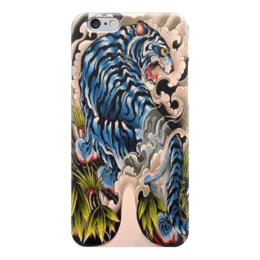 "Чехол для iPhone 6 ""тигр."" - хищник, тигр, зверь, японский арт"