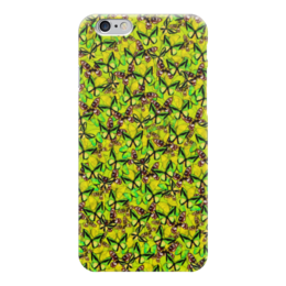 "Чехол для iPhone 6 глянцевый ""Ornithoptera"" - бабочки, природа, текстура, фон"