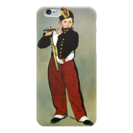 "Чехол для iPhone 6 ""Флейтист"" - картина, мане"