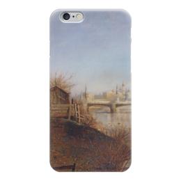"""Чехол для iPhone 6 """"Вид на Кремль"""" - картина, саврасов"""