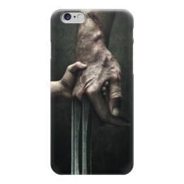 """Чехол для iPhone 6 глянцевый """"Логан"""" - комиксы, росомаха, люди икс, marvel, марвел"""