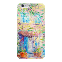 """Чехол для iPhone 6 глянцевый """"Прованс"""" - франция, живопись, прованс, provence"""