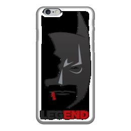 "Чехол для iPhone 6 ""Batman Legend"" - batman, бэтмен, легенда"