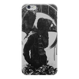 """Чехол для iPhone 6 глянцевый """"Чумной доктор"""" - череп, смерть, plague doctor, skull"""