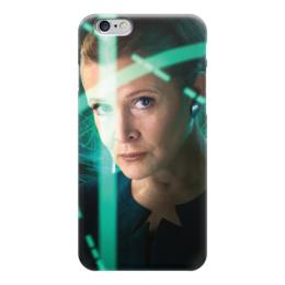 """Чехол для iPhone 6 глянцевый """"Звездные войны - Лея"""" - звездные войны, фантастика, кино, дарт вейдер, star wars"""