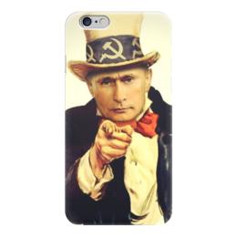 "Чехол для iPhone 6 ""Путин "" - страна, россия, russia, путин, президент"
