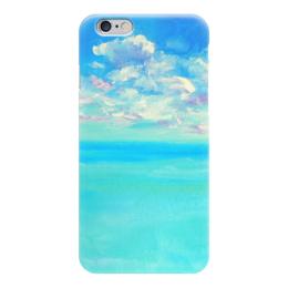 """Чехол для iPhone 6 """"Рай для двоих"""" - рай, море, отдых, небо"""