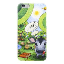 "Чехол для iPhone 6 ""Lollypups #26 "" - арт, подарок, овца, му, теленок"