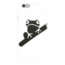 """Чехол для iPhone 6 """"Лягушка"""" - лягушка, frog"""