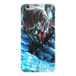 "Чехол для iPhone 6 ""Sub zero"" - mortal kombat, смертельная битва, мортал комбат, sub-zero, саб-зиро"
