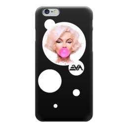 """Чехол для iPhone 6 """"Мэрилин Монро"""" - мэрилин монро, marilyn monroe, bubble gum"""