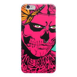 """Чехол для iPhone 6 глянцевый """"Zombie Boy"""" - зомби, поп арт, тату, zombie"""