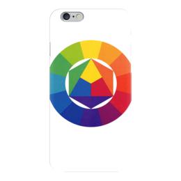 "Чехол для iPhone 6 ""Цветовой круг художника"" - арт, цвета, colors, круг"