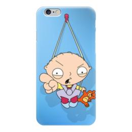 """Чехол для iPhone 6 глянцевый """"малыш"""" - family guy, гриффины, стьюи гриффин, стьюи"""