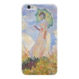 """Чехол для iPhone 6 """"Монэ - Девушка с зонтом"""" - классика, рисунок, монэ"""