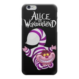 """Чехол для iPhone 6 """"Alice in Wonderland"""" - кот, cat, алиса, алиса в стране чудес, alice in wonderland"""
