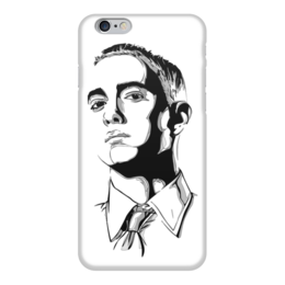 "Чехол для iPhone 6 глянцевый ""Эминем (Eminem)"" - эминем, eminem, слим шейди, slim shady"