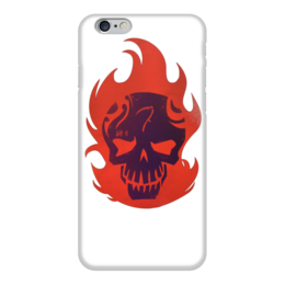 """Чехол для iPhone 6 """"Отряд самоубийц / Suicide Squad"""" - комиксы, кино, харли квин, отряд самоубийц, злодеи"""