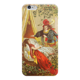 """Чехол для iPhone 6 """"Спящая красавица (сказка)"""" - картина, лёйтеманн"""