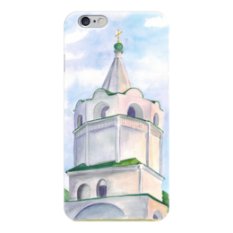 """Чехол для iPhone 6 """"Колокольня"""" - мир, россия, воздух, христианство, колокольня"""