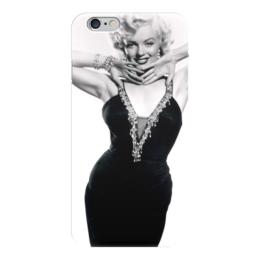 """Чехол для iPhone 6 глянцевый """"Мэрилин Монро"""" - певица, актриса, блондинка, монро, мэрилин монро"""