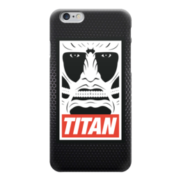 "Чехол для iPhone 6 ""Атака Титанов (Attack on Titan)"" - obey, атака титанов, attack on titan"