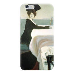 "Чехол для iPhone 6 ""Ужин (картина Бакста)"" - картина, бакст"