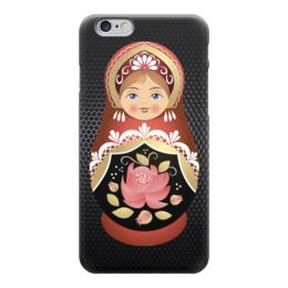 """Чехол для iPhone 6 """"Матрешка"""" - матрешка, russian doll"""