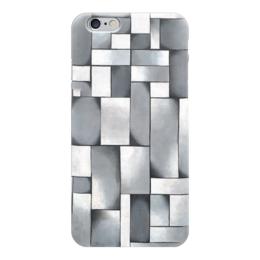 """Чехол для iPhone 6 """"Композиция в сером"""" - картина, дусбург"""