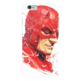 """Чехол для iPhone 6 глянцевый """"Герой"""" - комиксы, герой, мульт, супергерой"""