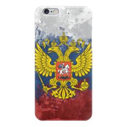 """Чехол для iPhone 6 """"Россия"""" - россия, герб, russia, рф, российская федерация"""