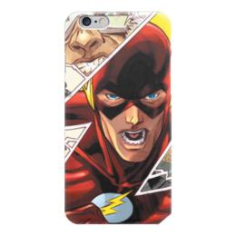 "Чехол для iPhone 6 ""Молния (The Flash)"" - flash, молния, флэш"