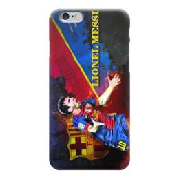 """Чехол для iPhone 6 """"Лионель Месси (Барселона)"""" - football, месси, барса"""