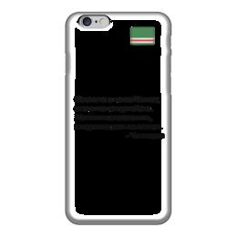 """Чехол для iPhone 6 """"Чингисхан про Чечню"""" - кавказ, чечня, чингисхан, монголы"""