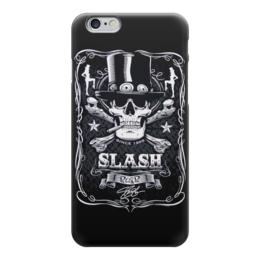 """Чехол для iPhone 6 глянцевый """"Guns n' roses"""" - guns n roses, slash, хэви метал, слэш, guns n' roses"""