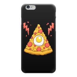 """Чехол для iPhone 6 """"Кусочек Пиццы (Pizza)"""" - пицца, pizza"""