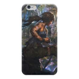 "Чехол для iPhone 6 ""Лара Крофт (Tomb Raider)"" - tomb raider"